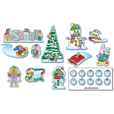 Carson-Dellosa Winter Bulletin Board Set