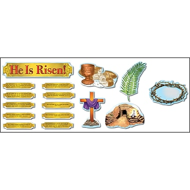 Carson-Dellosa He Is Risen! Bulletin Board Set