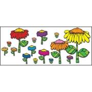 D.J. Inkers Flower Garden Bulletin Board Set