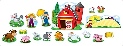Carson-Dellosa Farm Bulletin Board Set