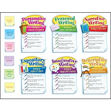 Carson-Dellosa Writing Modes Bulletin Board Set, Grades 3 - 5