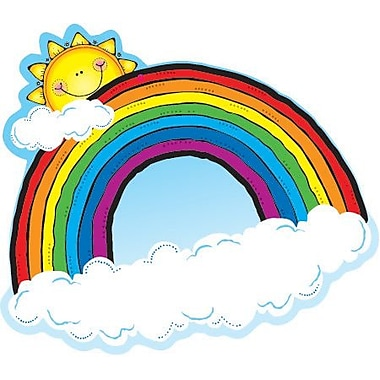 D.J. Inkers Rainbows Cut-Outs