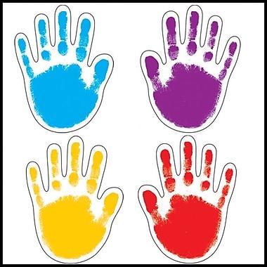 Carson-Dellosa Handprints Cut-Outs