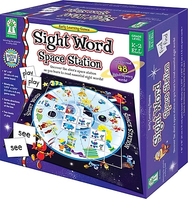 Key Education Sight Word Space Station Board Game
