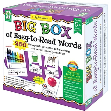 Key Education Big Box of Easy-to-Read Words Board Game