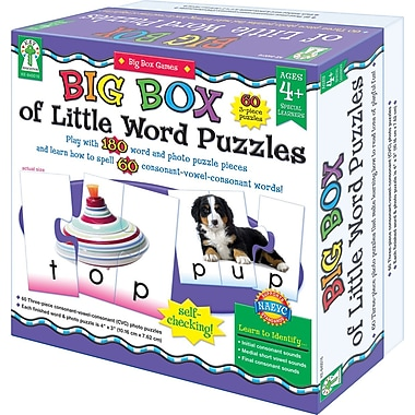 Key Education Big Box of Little Word Puzzles Game
