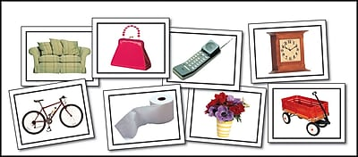 Key Education Nouns: Everyday Objects Learning Cards