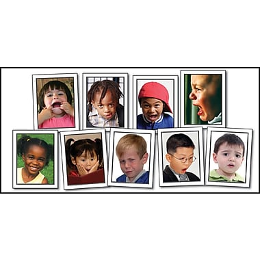 Carson-Dellosa Key Education Facial Expressions Learning Cards, 45/pack (845020)