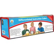 Carson-Dellosa Differentiated Instruction Cubes Manipulative, 3/pack (146006)