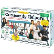 Key Education Listening Lotto: Community Helpers Board Game