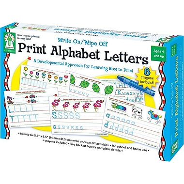 Key Education Print Alphabet Letters Manipulative