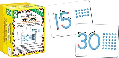 Key Education Textured Touch and Trace: Numbers Manipulative