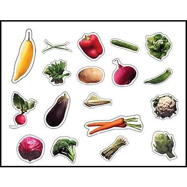 Carson-Dellosa Vegetables Shape Stickers