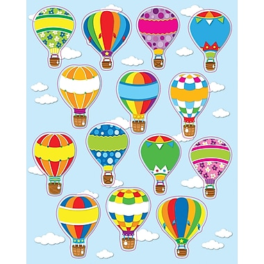 Carson-Dellosa Hot Air Balloons Shape Stickers