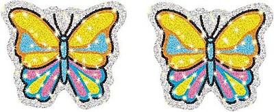 Butterflies Dazzle™ Stickers, 75/Pk