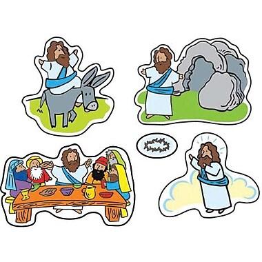 Carson-Dellosa Easter Passion Shape Stickers