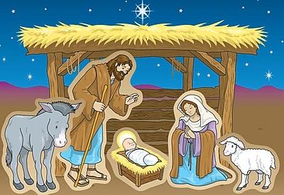 Carson-Dellosa Nativity Stickers