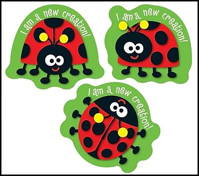 Carson-Dellosa I Am a New Creation! Shape Stickers