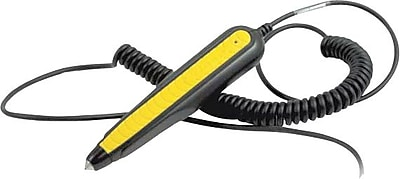 Wasp® WWR2905 Pen Bar Code Reader With USB Cable, Black/Yellow