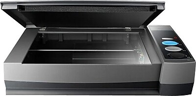 plustek OpticBook 4800 Flatbed Scanner, Gray