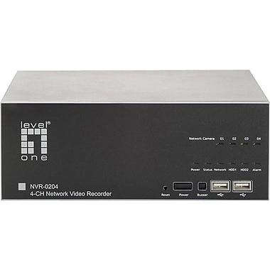 LevelOne® NVR-0204 2 Way Audio H.264 MPEG-4 Part 2 MJPEG DVR System