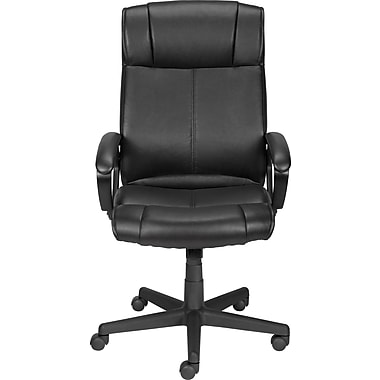 Staples Turcotte Luxura High Back Executive Chair, Black (23094R-CA)