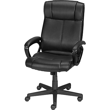 office leather chair. Staples® Turcotte Luxura® High Back Office Chair, Black Leather Chair I
