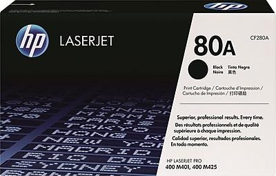 HP 80A (CF280A) Black Original LaserJet Toner Cartridge