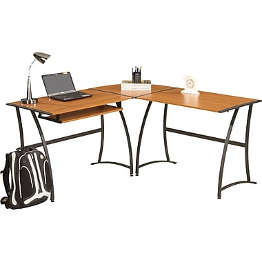 Ergocraft Ashton L-Shaped Desk from Staples