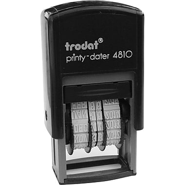 Trodat® 4810 Printy Self-Inking Line Dater, English