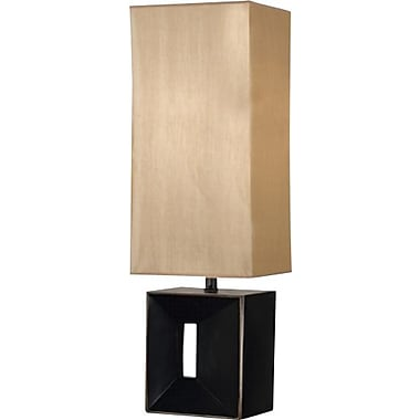Kenroy Niche Incandescent Table Lamp, Oil Rubbed Bronze