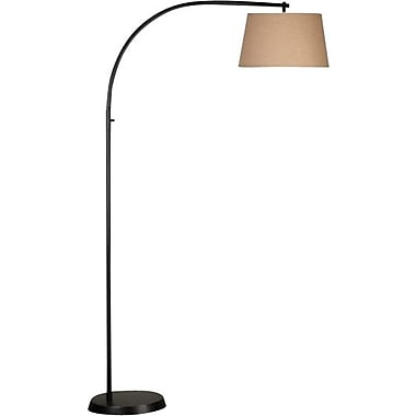 Kenroy Home Sweep Floor Lamp, Oil Rubbed Bronze Finish
