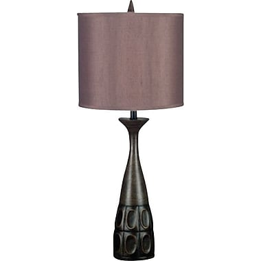 Kenroy Jules Incandescent Table Lamps, Mahogany Bronze Finish, 2/Pack