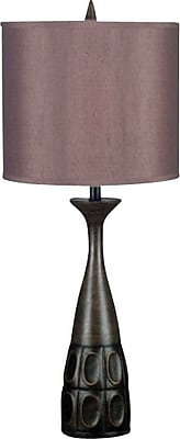 Kenroy Home Jules Table Lamp, Mahogany Bronze Finish