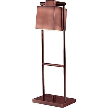 Kenroy Home Crimmins Desk Lamp, Vintage Copper Finish