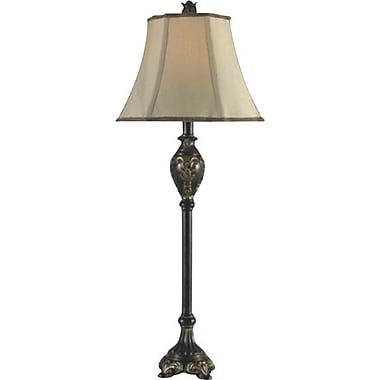 Kenroy Contessa Incandescent Buffet Lamps, Bronzed Gold Finish, 2/Pack