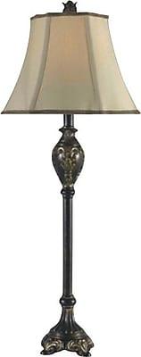 Kenroy Home Contessa Buffet Lamp, Bronzed Gold Finish