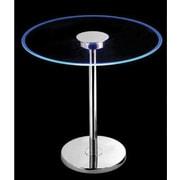 Kenroy Home Spectral LED Table, Chrome Finish