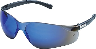 MCR Safety® BearKat® Crews ANSI Z87 Safety Glasses, Blue Mirror