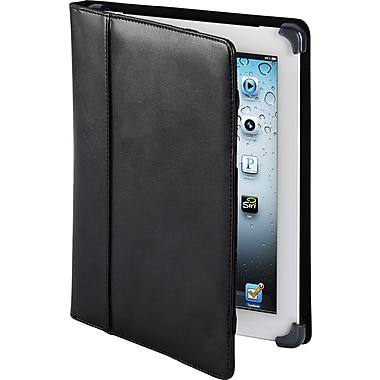 Cyber Acoustics iPad 3 Leather Case, Black M102X