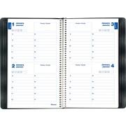 Blueline® - Livret de rendez-vous perpétuel de 2 jours sans date, 8 po x 5 po, bilingue