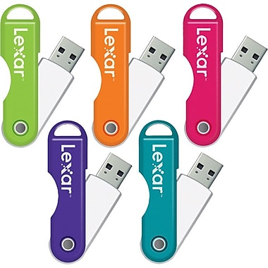 Lexar™ 32GB TwistTurn USB Flash Drive