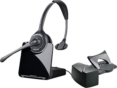 Plantronics® CS510/HL10 Wireless Office Headset, with Plantronics HL10 Handset Lifter