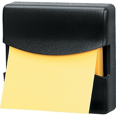 Fellowes Partition Additions Cubicle Note Dispenser, Black, Each (7528201)