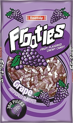 Tootsie Frooties, Grape, 28 oz. Bag