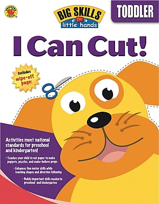 Brighter Child I Can Cut Workbook