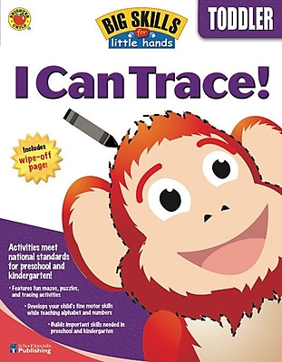 Brighter Child I Can Trace Workbook