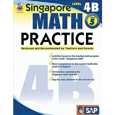 Frank Schaffer Math Practice Workbook, Level 4B, Grade 5