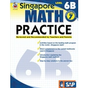 Frank Schaffer Math Practice Workbook, Level 6B, Grade 7