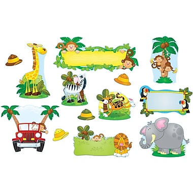 Carson-Dellosa Jungle Safari Bulletin Board Set